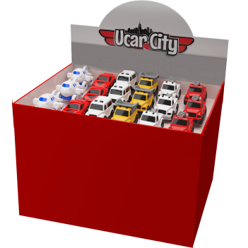 Uçar City 6 Pieces Safety Tom Cars Unbreakable Vehicles
